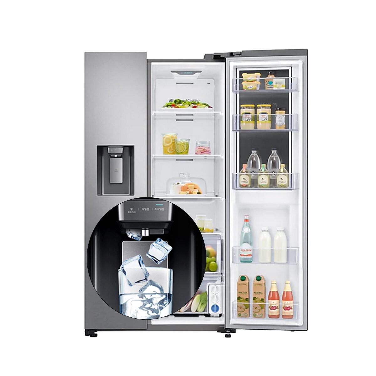 삼성 얼음정수기 양문형냉장고 RS80T5190SL (추가필터증정)