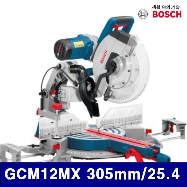 보쉬 643-0207 각도절단기 GCM12MX 305mm/25.4 1 800W (1EA) (POP 172848277)