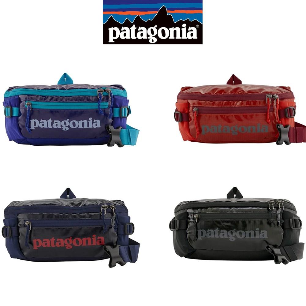 파타고니아 공용 블랙홀 웨스트백 힙색 여행보조가방