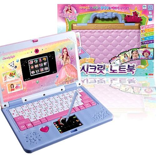 시크릿쥬쥬 별의여신 터치터치 시크릿 노트북, 시크릿노트북