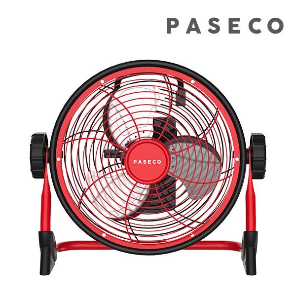 [PASECO]파세코 방수 무선형 선풍기 PMF-AB9100R(레드) (POP 218766822)