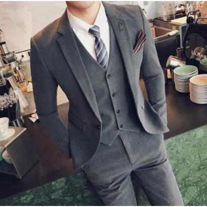 MWC kirahosi 정장 남자 봄 여름 가을 수트 양복 세미정장 정장세트 캐주얼정장s 03-137 ATul6o5+ 덧신 증정