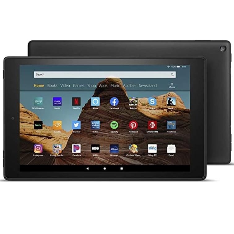 [당일출고] 아마존 올뉴파이어 HD 10 32GB 태블릿 2019 최신상 새제품, 블랙, Fire HD 10 Tablet