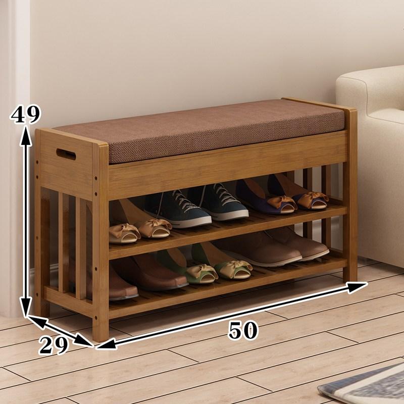 BLAVALLEY 신발장 다용도선반 의자선반 현관가구 C9, 사진색