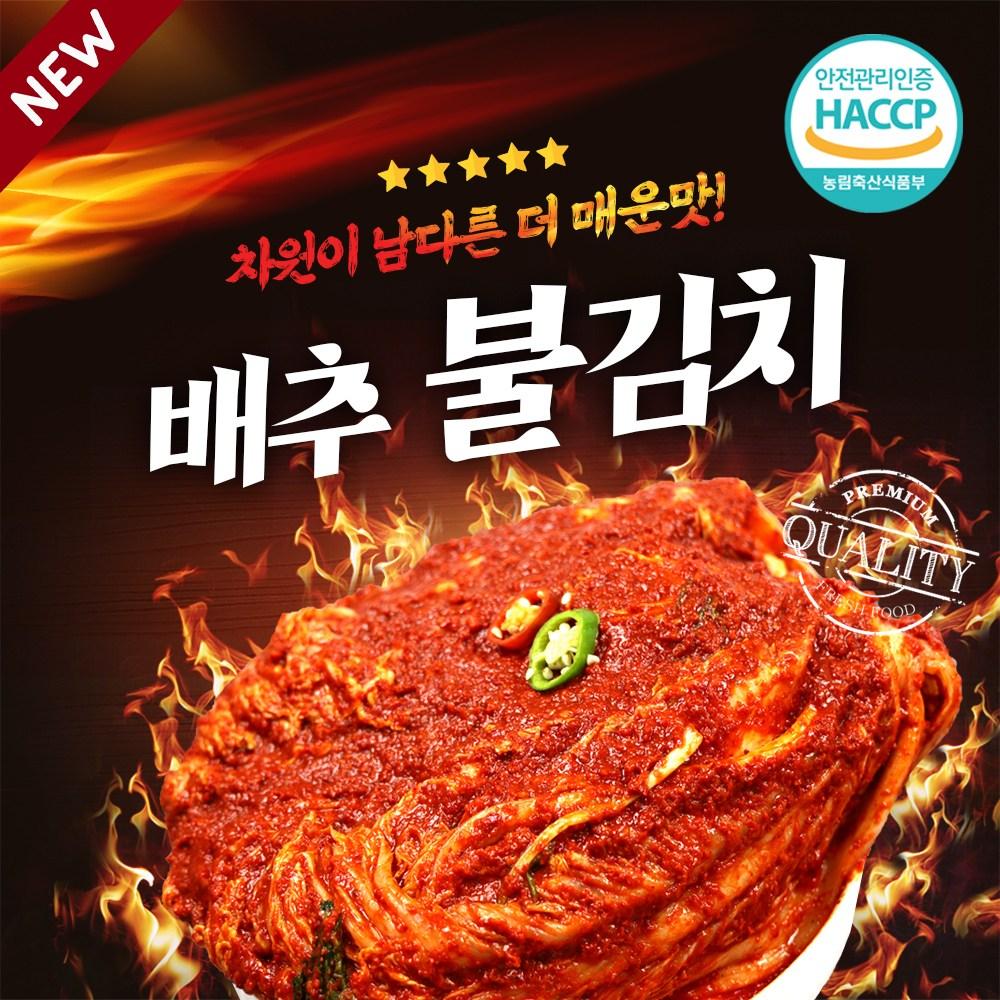 [입점특가] 전라도 매운 실비김치 불김치, 1개, 1.5kg(미치게 매운맛)-18-5851413051