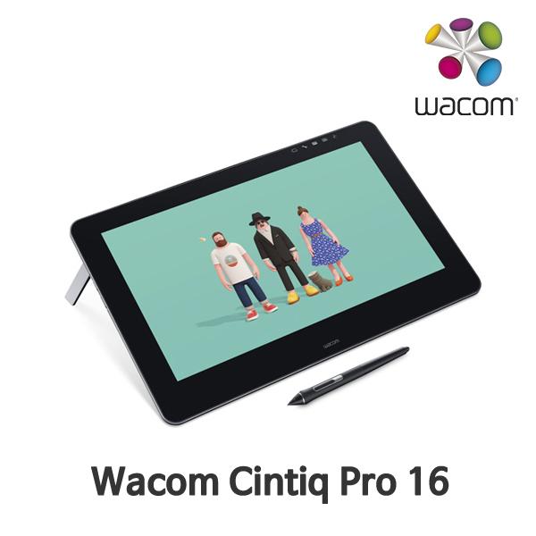 와콤 신티크 프로 16 터치 DTH-1620 액정타블렛 WACOM Cintiq Pro 16 Touch DTH-1620, 단일상품