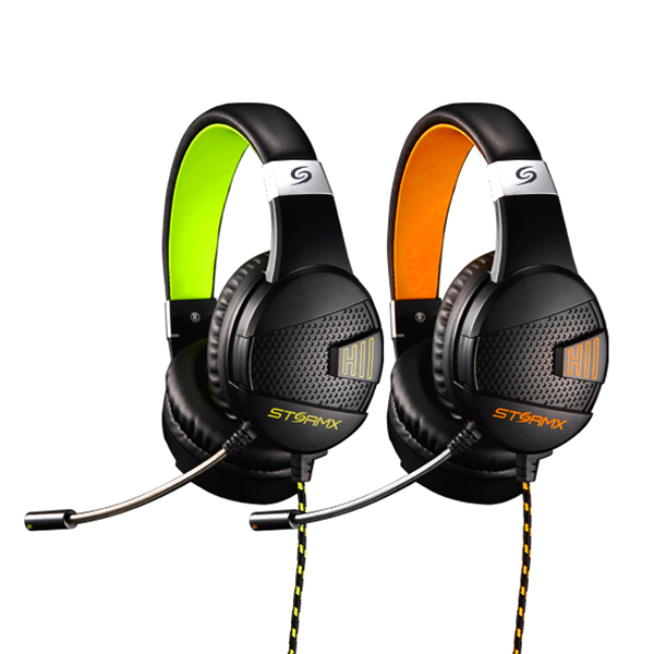 제닉스 STORMX H2 헤드셋 오렌지 (유선), 선택하세요