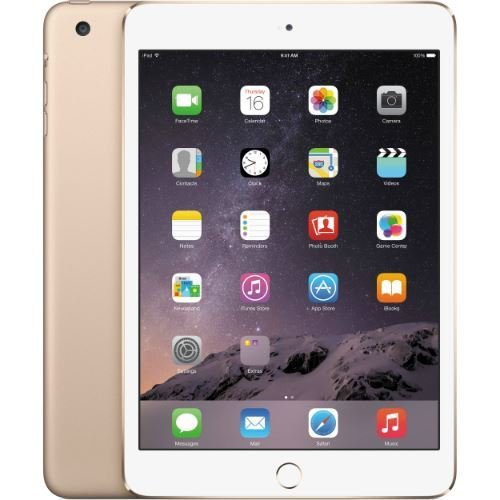 q198914 apple ipad mini 3 mggq2ll/a version (64gb wi-fi space gray) (리퍼), 128GB, Space Gray
