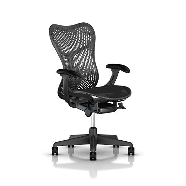 Herman Miller Mirra 2 Task Chair: Tilt Limiter w/Seat Angle Adjustment - FlexFront Adj Seat Depth -, Tilt Limiter w/Seat Angle Adjustment_ TriFlex Back