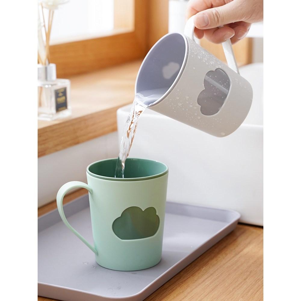 칫솔 캡흡착 이름표 물때안끼는칫솔걸이 양치컵 칫솔컵 수납함 세트 가정용 제인, 옵션01