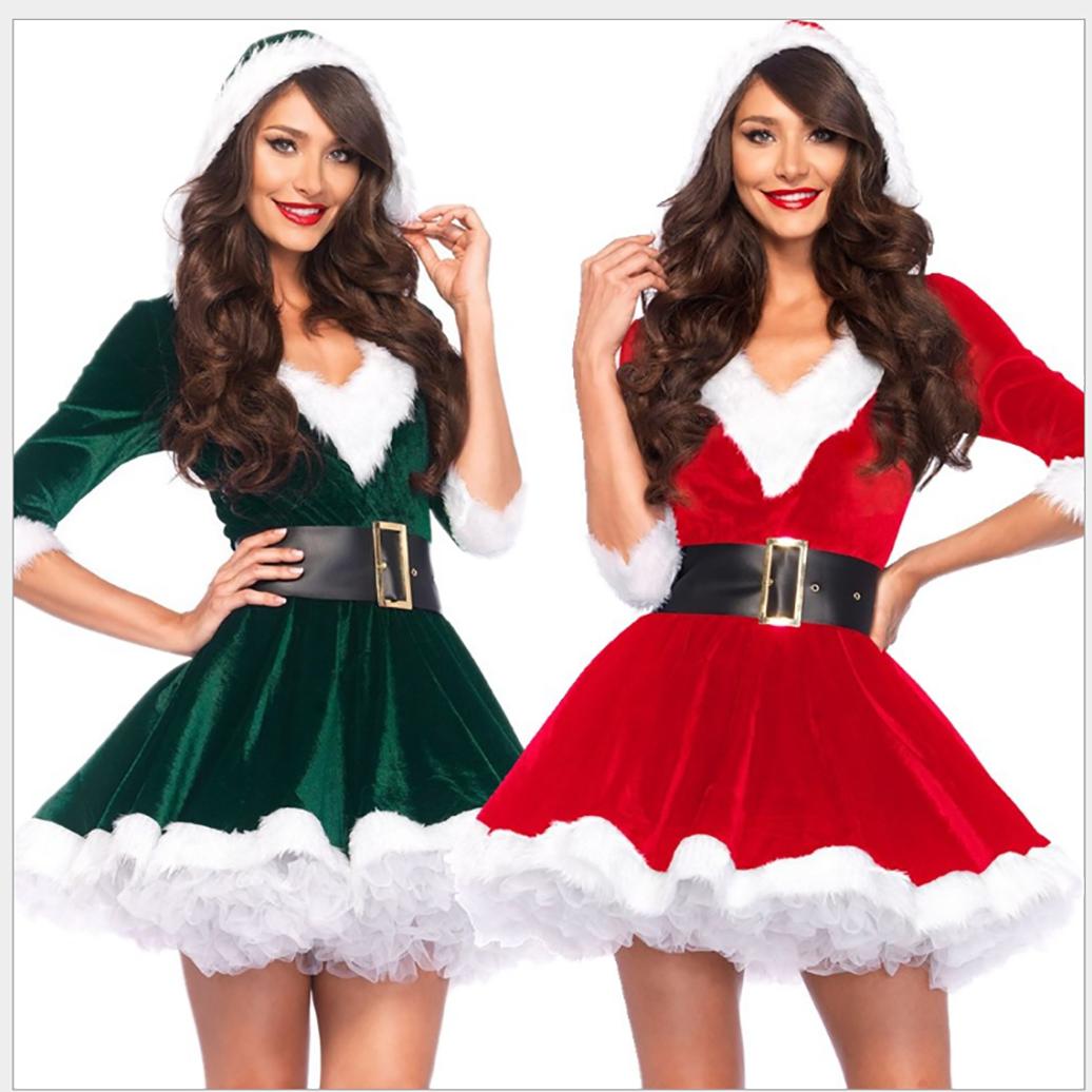 3H 크리스마스 옷 산타 할아버지옷 산타걸 코스프레 006