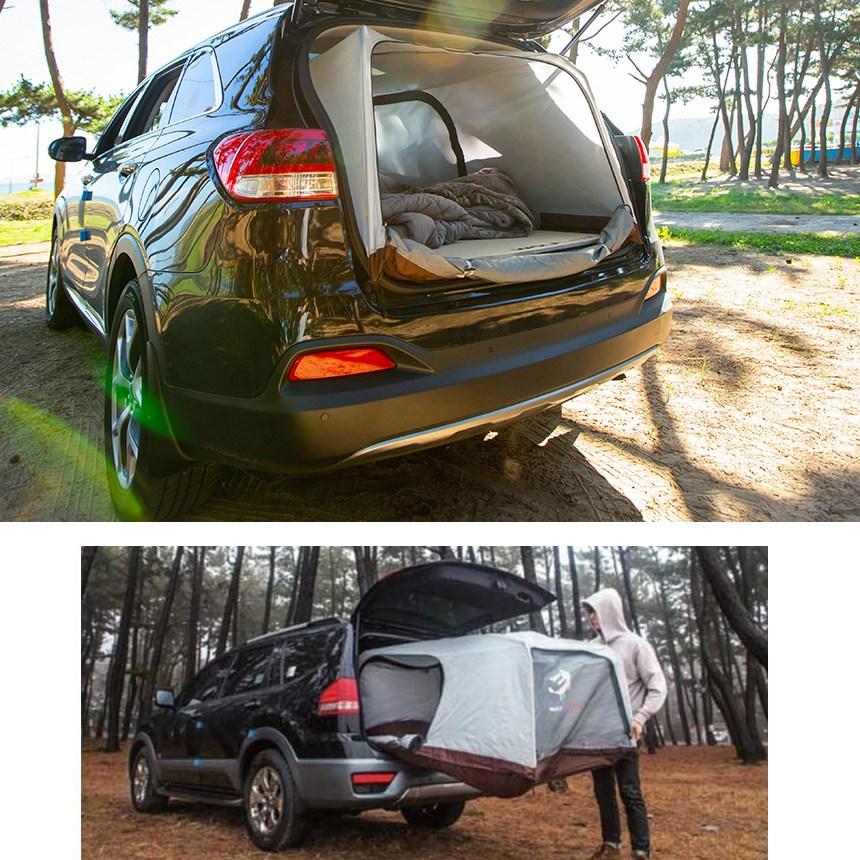 울프라운치 20년형 차박텐트 5인승 SUV차박텐트 투싼 스포티지 QM6 QM5 코란도