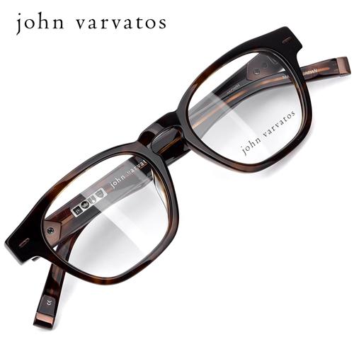 존 바바토스 명품 뿔테 안경테 V358UF-BROWN(49) / JOHN VARVATOS / 트리시클로