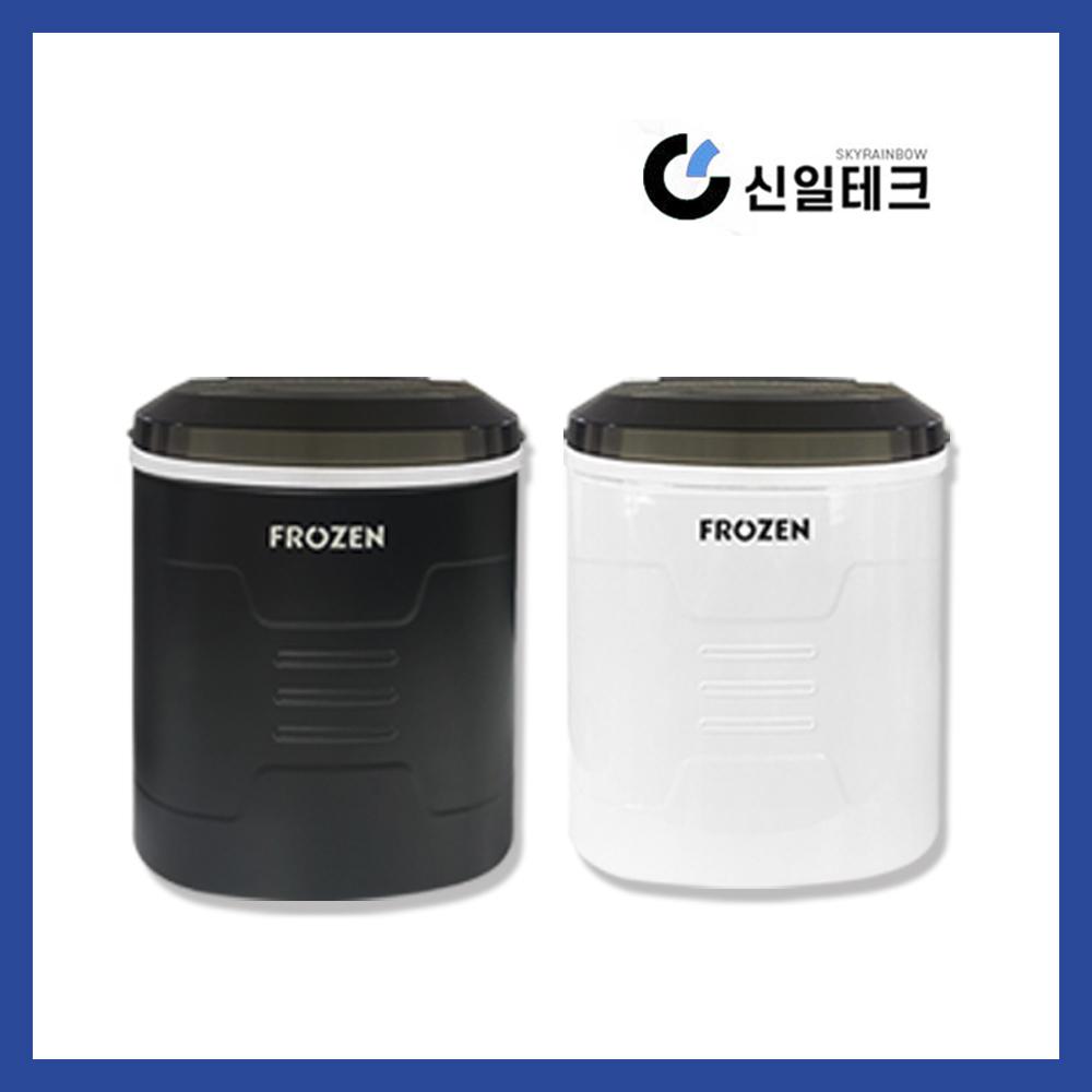 가정용 미니제빙기 하루생산15kg 휴대용 아이스메이커, 블랙 (POP 1925993248)