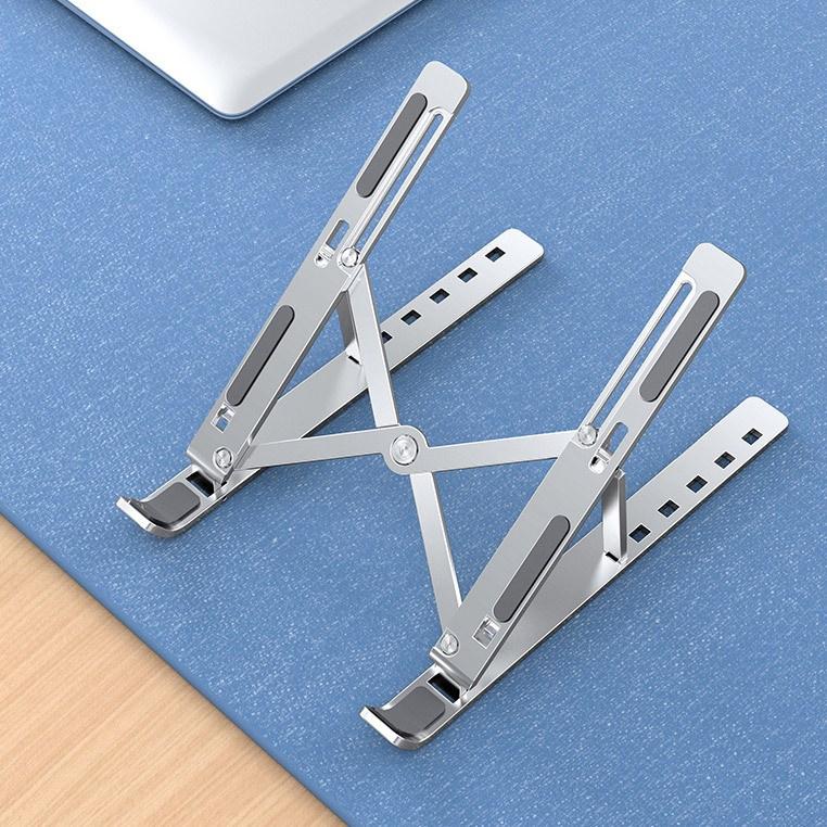 알루미늄 접이식 노트북 거치대 스텐드, 실버-6-5421387541