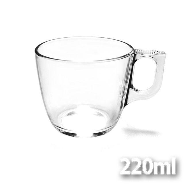 프랑스 루미낙 내열강화유리 티머그 220ml 유리잔 커피머그 찻잔 유리머그컵 유리머그잔