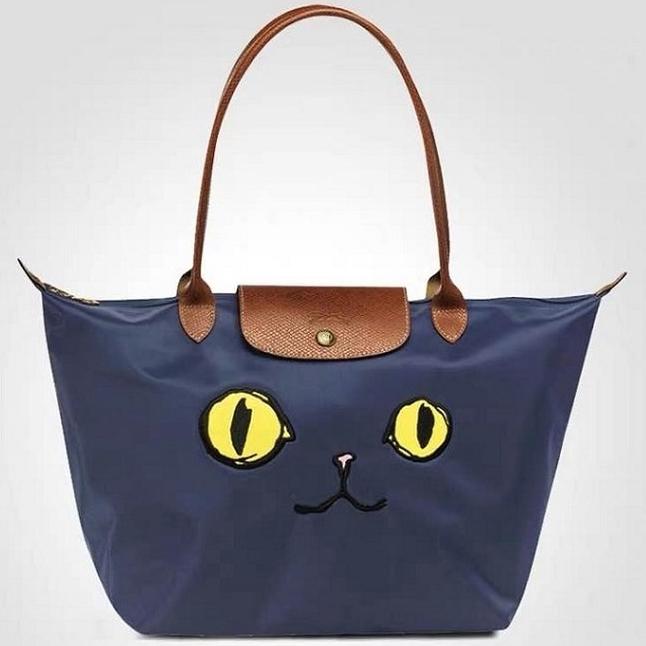 롱샴 longchamp 플리아쥬 고양이 숄더백