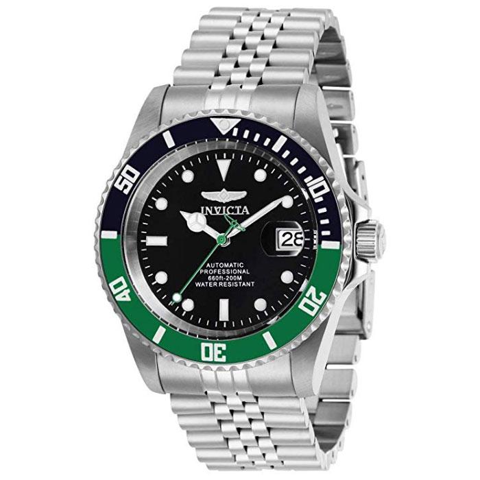 인빅타 프로다이버 오토매틱 시계 블랙 그린 29177 / INVICTA Automatic Watch 29177