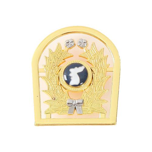 예비군 철제 전역 금장 뱃지 마크 전역선물 군인용품