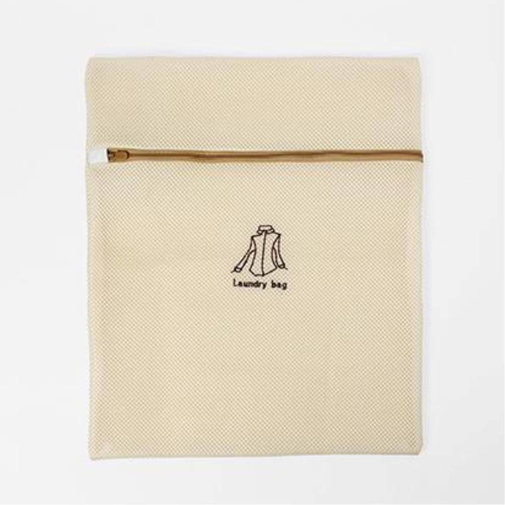 도톰한 세탁망 사각 옷세탁망 L 이중메쉬 빨래용품 모자세탁 다용도망 변형방지 꼬임방지, 1