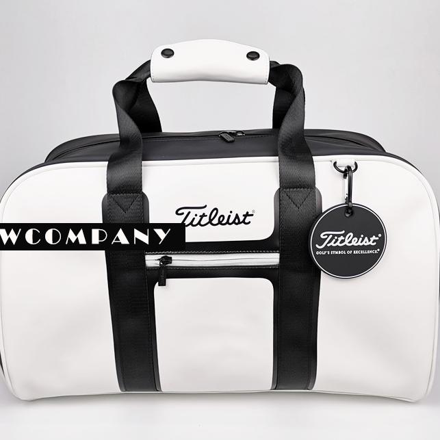 골프 타이틀리스트 남자 여자 보스턴백 다양한 컬러 보스턴가방, 화이트