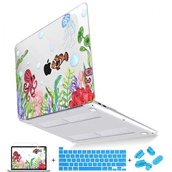 Mektron MacBook Pro 16 인치 커버 A2141 (2019 2020 자료) MacBook Pro 16 인치 용 소프트 터치 플라, 단일상품, 단일상품