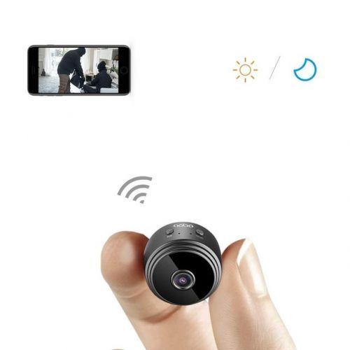 [해외] 미니 카메라 와이파이 소형, 검정 mini camera