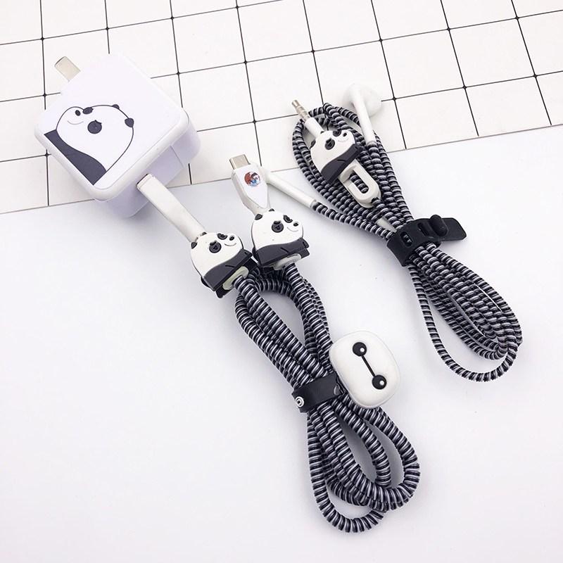 USB잠금장치 vivoy79/y67/y83A핸드폰 충전선 보호, T01-판다