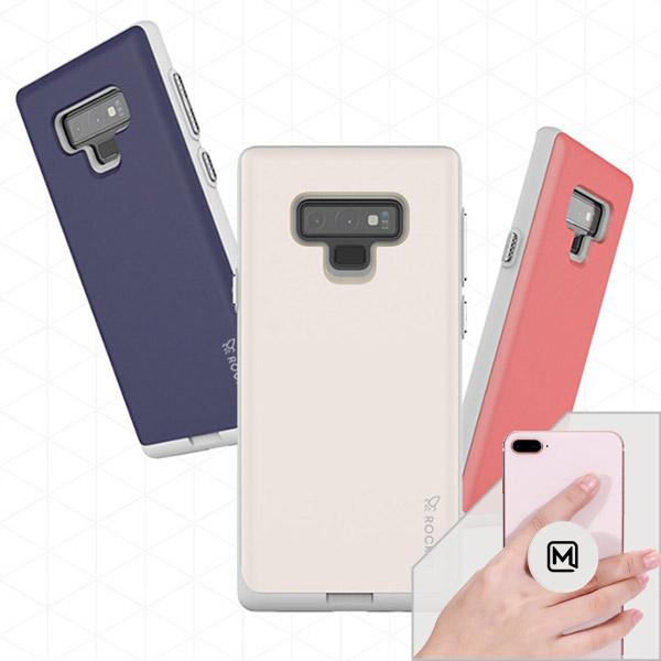 LG V50S 케이스 엘지 LGV50S케이스 LM- V510 케이스 ROCK 카드 범퍼 핸드폰 케이스 + 메오르톡