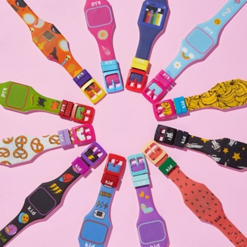 [텐바이텐] 빅키드 LED향기 초등학생 유아 어린이 전자 손목시계