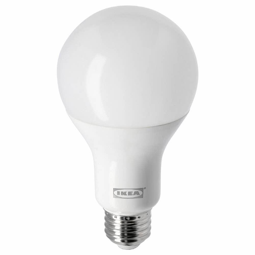 LED 전구 E26 1055 루멘 웜디머 구형 오팔 화이트 레다레 2700켈빈, 기본, 기본