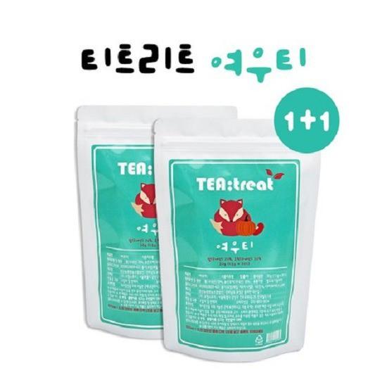 티트리트 여우티 팥호박차, 1.5g, 40개입