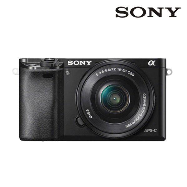 [신세계TV쇼핑][소니] SONY 미러리스 알파 A6000 16-50KIT 블랙, 단품