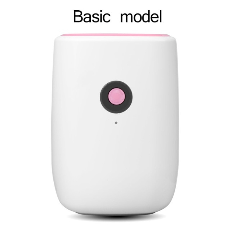전기 미니 공기 제습기 800ml 휴대용 LED discplay 공기 청정기 기계 자동 전원 끄기 가정용 100-240V EU 용 제상, 협력사, 기본 모델-핑크 (POP 5621358775)