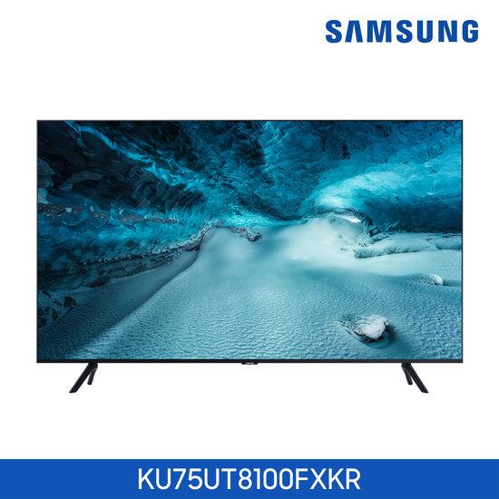 삼성 UHD TV 75인치 KU75UT8100FXKR, 색상:스탠드 (POP 1603816430)