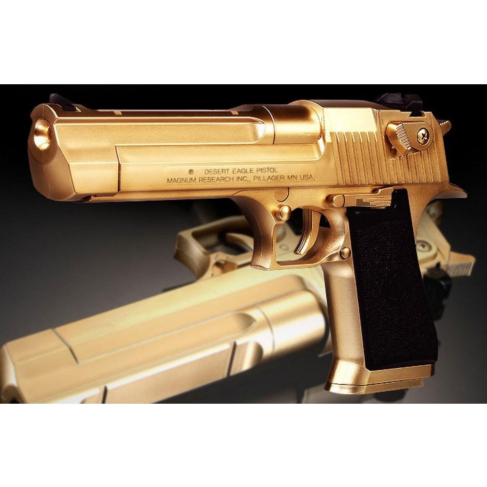 성인용 골드 비비탄총 장난감 bb탄 가스총 권총