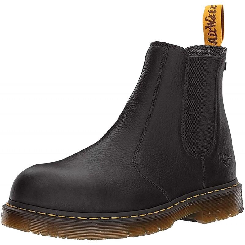 [안전화/ 작업화 남성 270 사이즈] Dr. Martens Men s Work Construction Boot Black Industrial Full