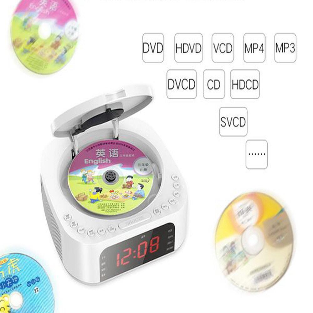 블루투스 어학용 영어 휴대용 CD DVD 시디 플레이어, 보급형(무선충전X), 검정색 (POP 5655908758)