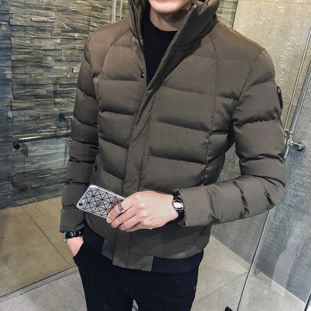 kirahosi 남자 블루종 자켓 간절기 패딩 겨울 보온 점퍼 숏 74호+덧신증정