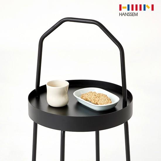 [한샘] 마틴 손잡이 테이블, 화이트