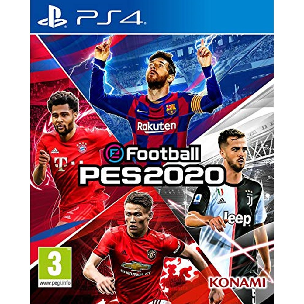 이풋볼 페스 2020 eFootball PES 2020 - PS4, 단일상품