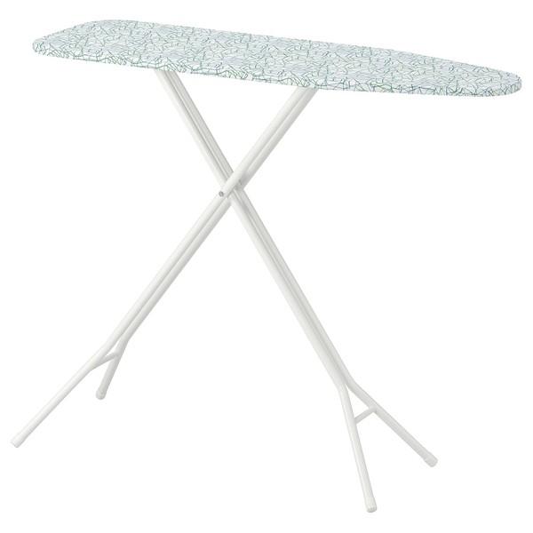 다리미판 IKEA IKEA RUTER 루터 다리미판 모던 북유럽 강력하고 안정적이며 통기성있는 물때 방지, 01 하얀