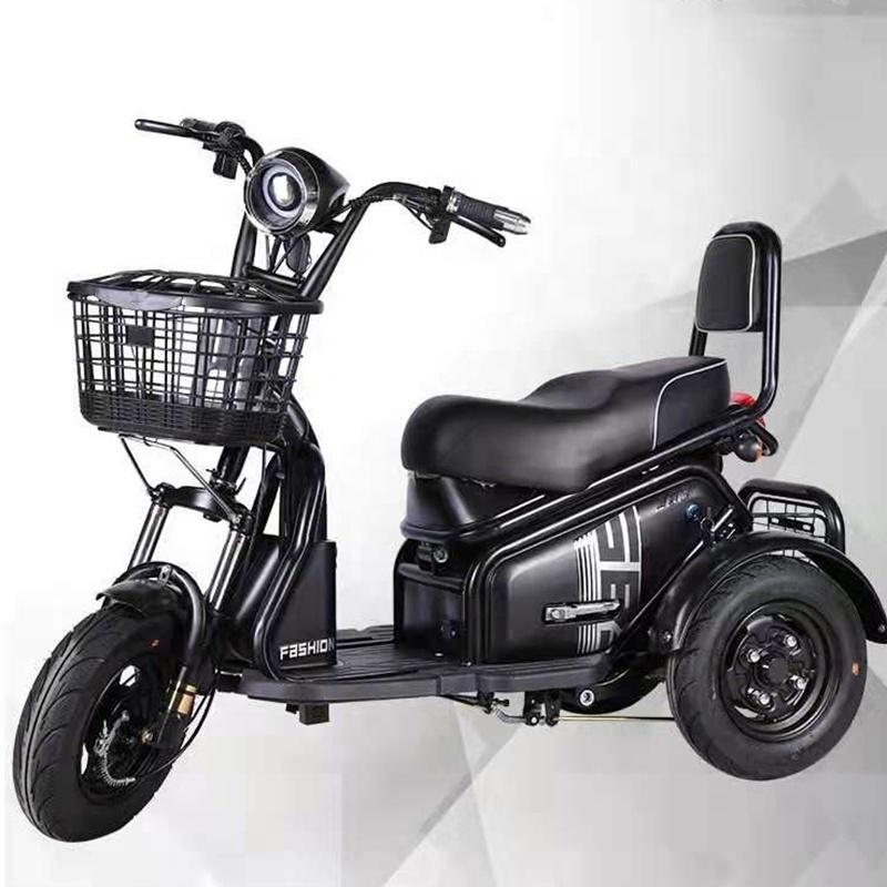 전기자전거 삼륜 전동스쿠터 650W모터, 01.Black