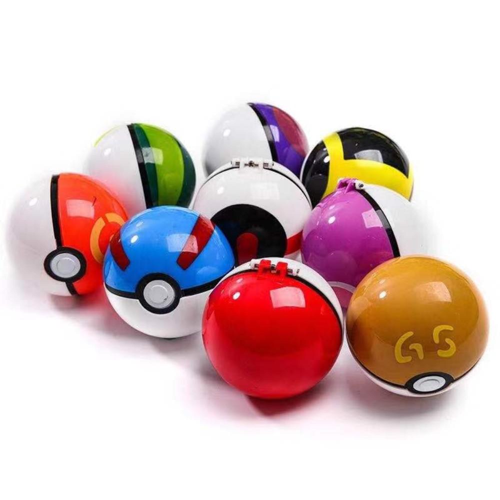 포켓몬스터 손으로 만든 장난감 입상 피카츄 장신구 풀 세트 144, 랜덤 포켓볼 1 + 1 포켓몬 + 한 사이즈개