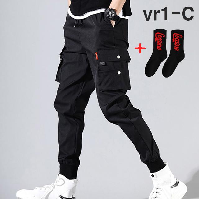 [국내당일발송]블라크12 남자 테크웨어 카고조거팬츠 스트릿밴딩바지 C라인
