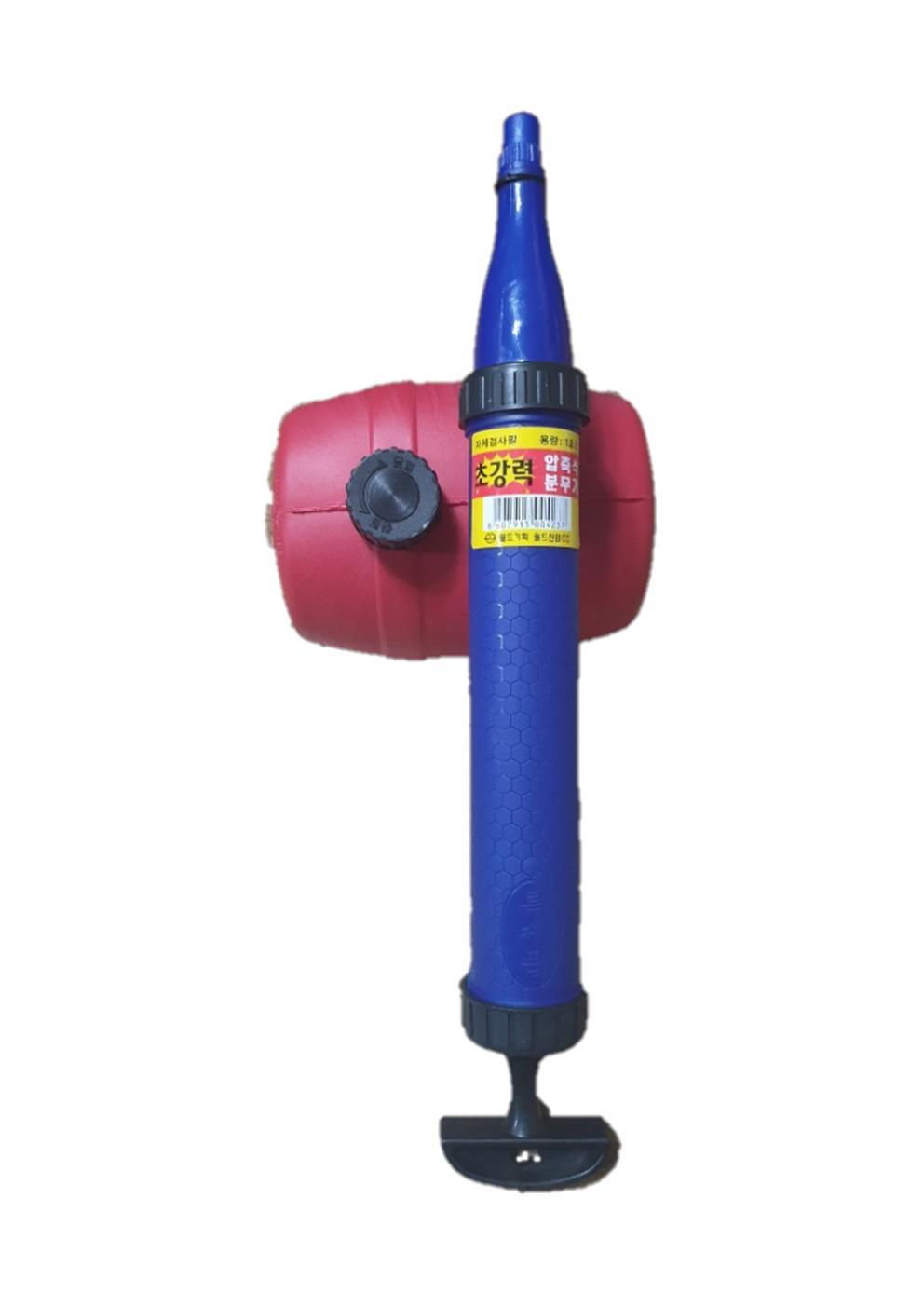 월드산업 초강력 압축식 분무기 1.8L 농약분무기/농기계/동력분무기/고압분무기/화분쇼핑몰, 단일 색상