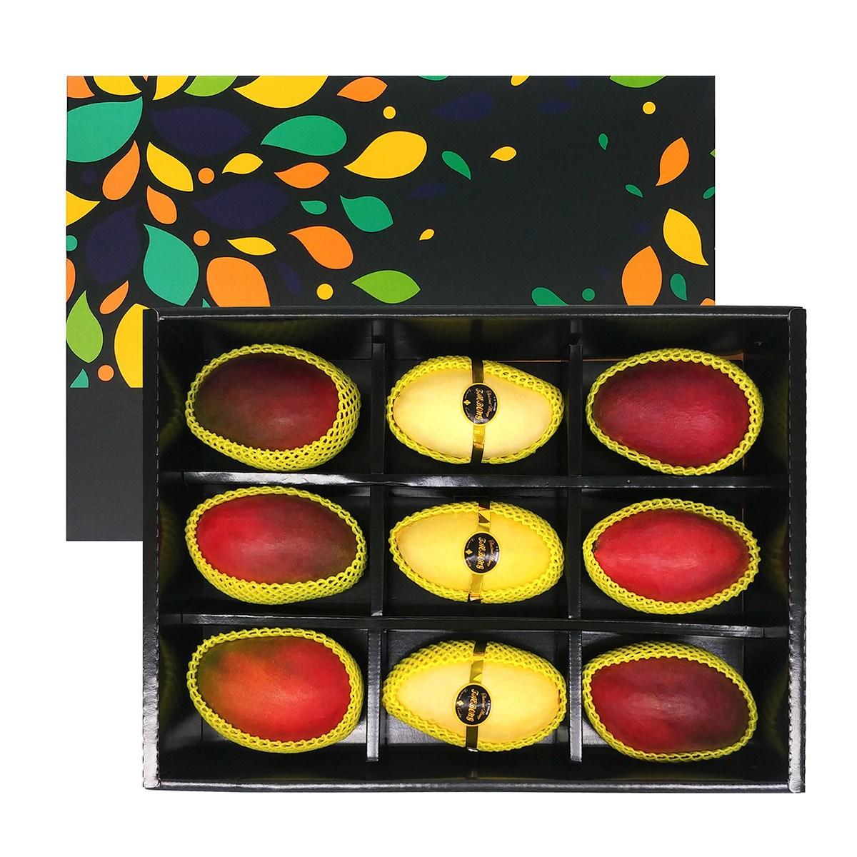 망고 2종 혼합 선물세트 3.7kg x 4세트 코스트코 정품, 단일상품