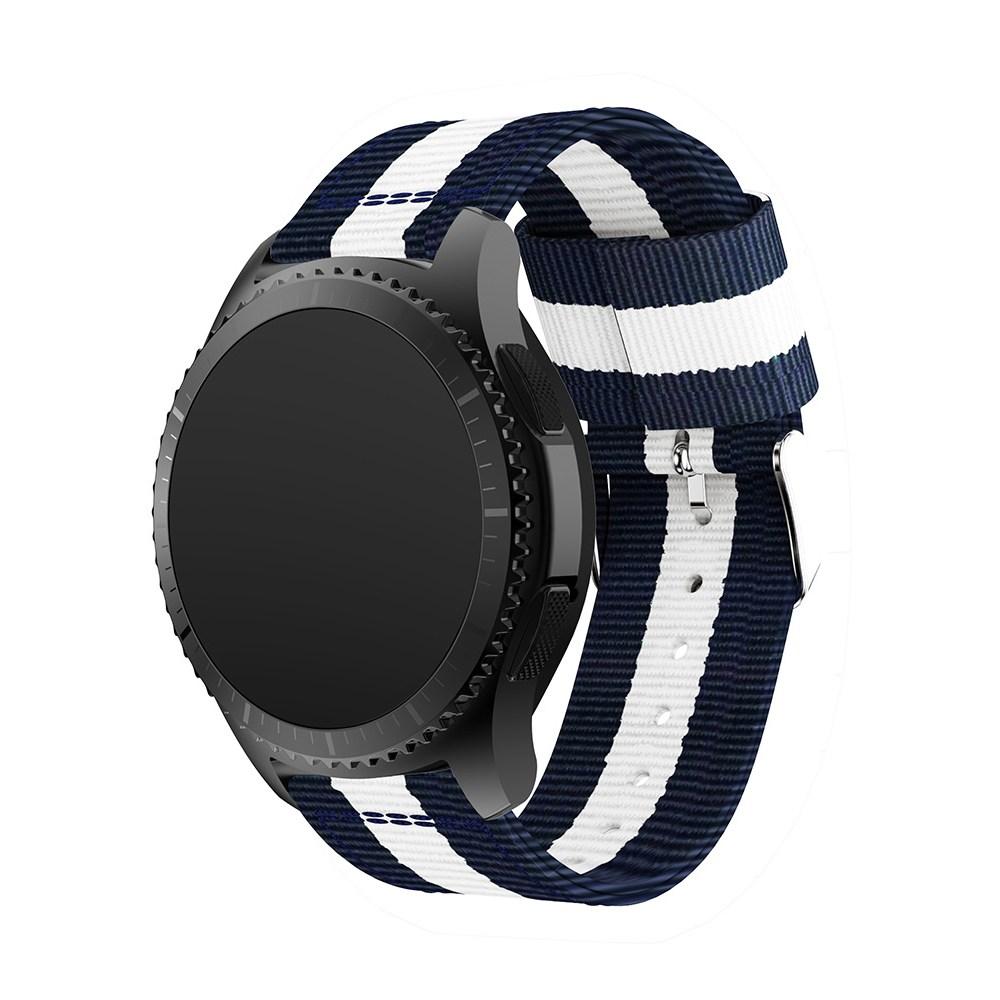 삼성 갤럭시워치 42mm 46mm 시계줄 밴드 스트랩 기어 워치 watch, 그린+화이트+레드, g0006-s3클래식