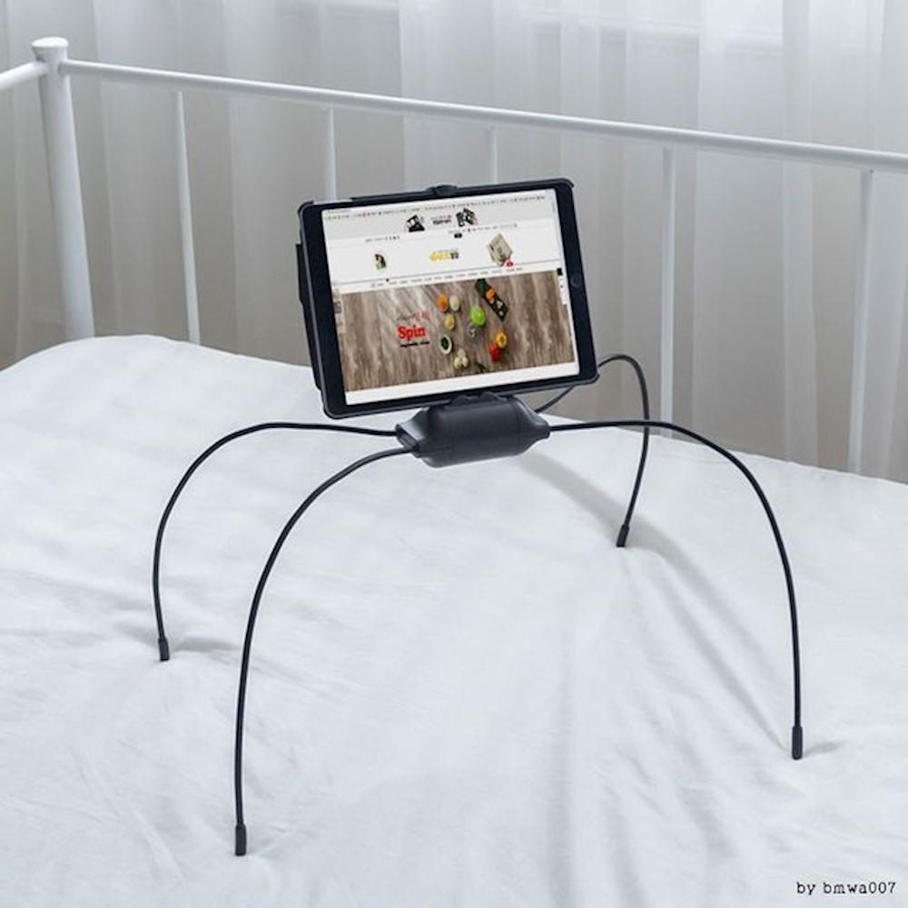 스파이더 스탠드 침대 태블릿 거치대 컴퓨터 SW 노트북용품 스마트폰 아이패드 삼각대, 상세페이지참조()