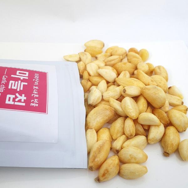 야채 건조 칩 마늘 웰빙 건강 스낵 마늘칩 50g 1팩